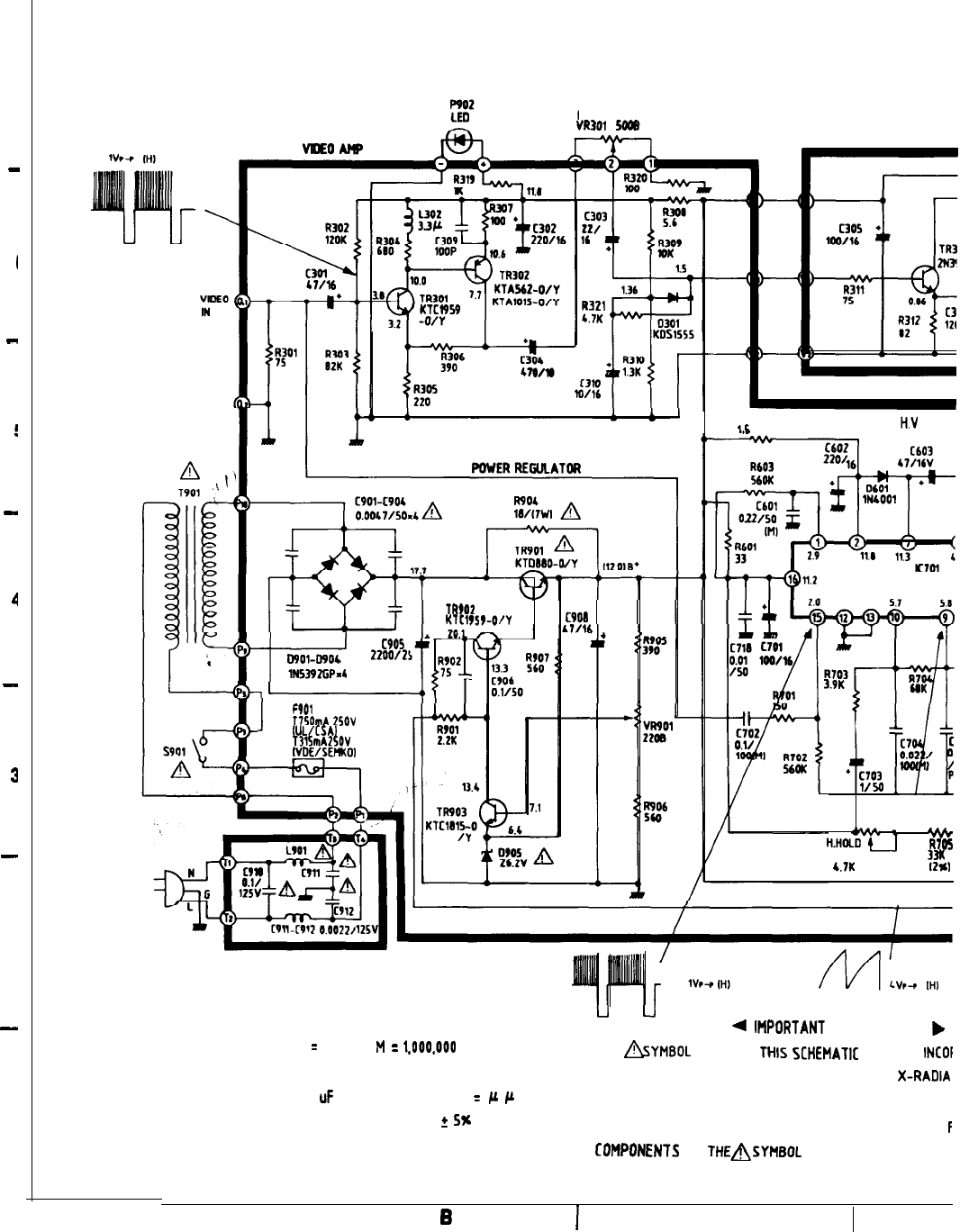 Page 6 of Goldstar Refrigerator MBM-2105GIA User Guide