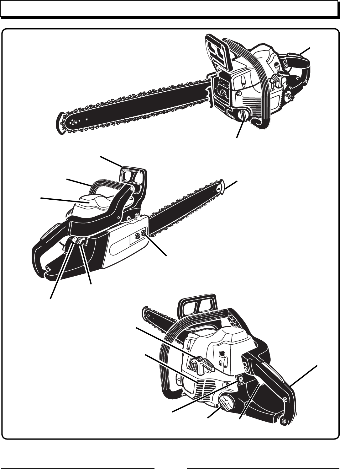 Page 8 of Homelite Chainsaw UT10942D User Guide