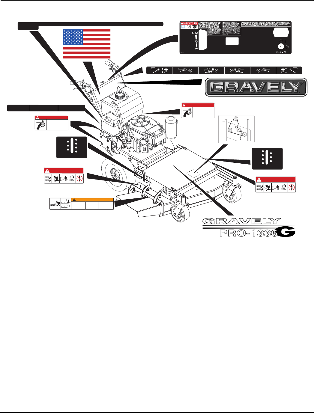Page 4 of Gravely Lawn Mower 988100 User Guide