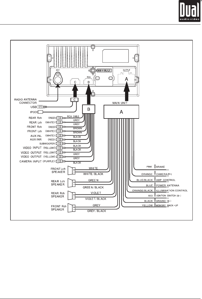 Xdvd210bt Wiring Harness Diagram. Dual. Free Wiring Diagrams on