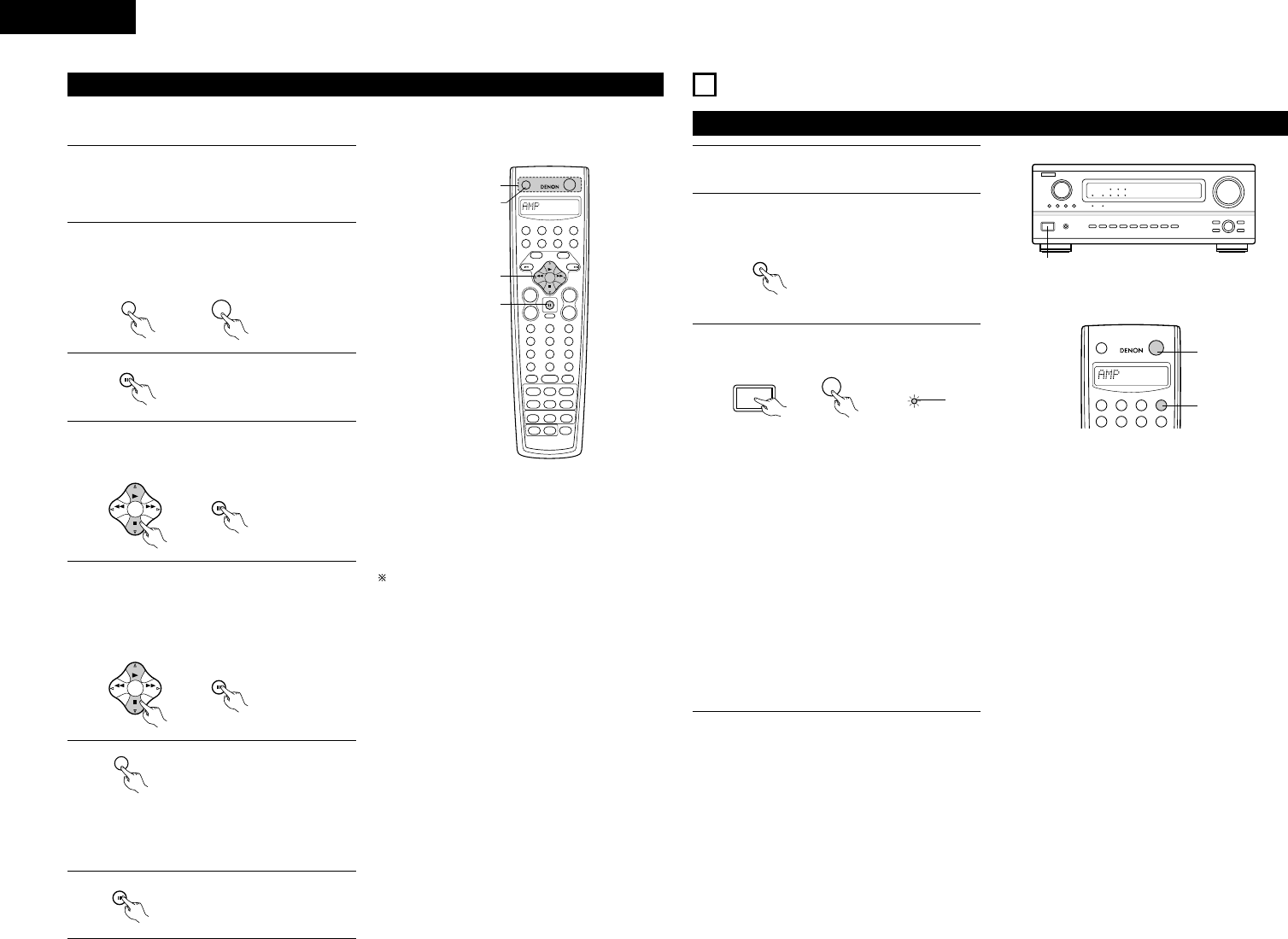 Page 22 of Denon Stereo System AVR-1082 User Guide
