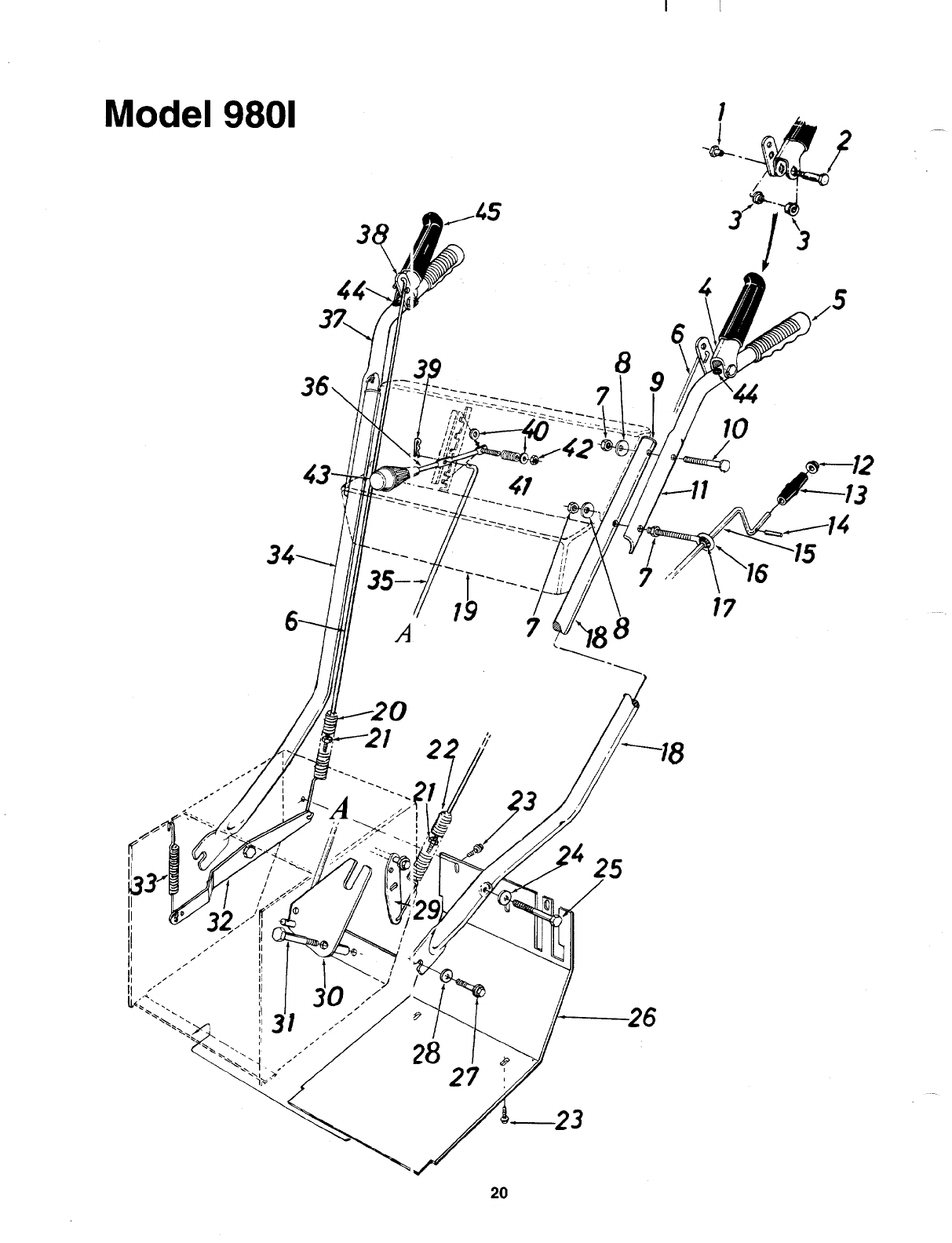 Page 20 of MTD Snow Blower 312-980I000 User Guide