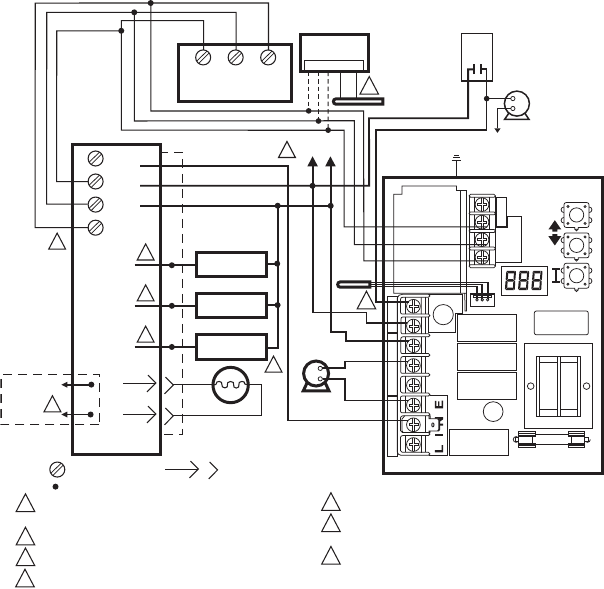 Page 12 of Honeywell Boiler L7224A User Guide