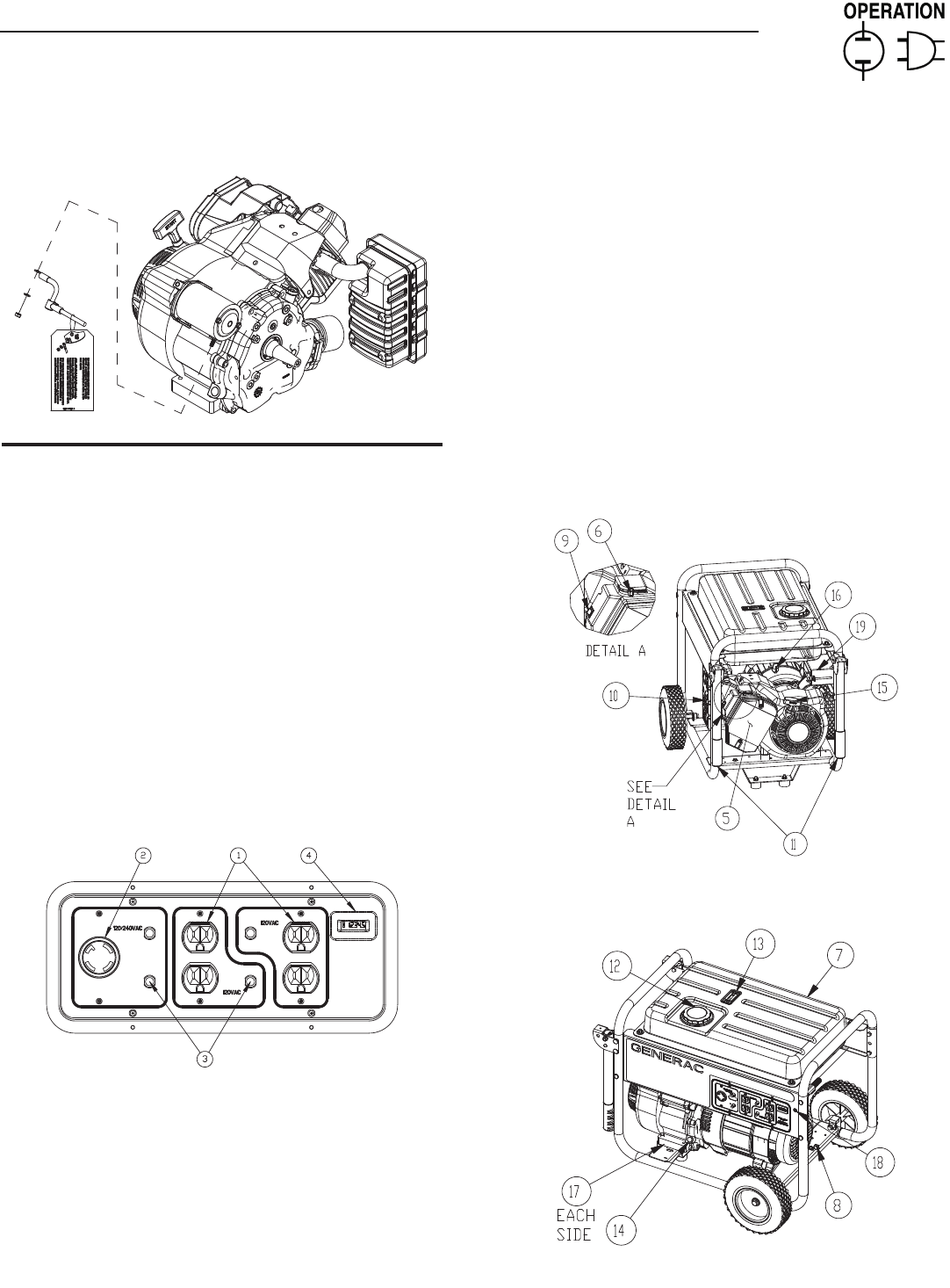 Page 7 of Generac Portable Generator 000 & 8 User Guide