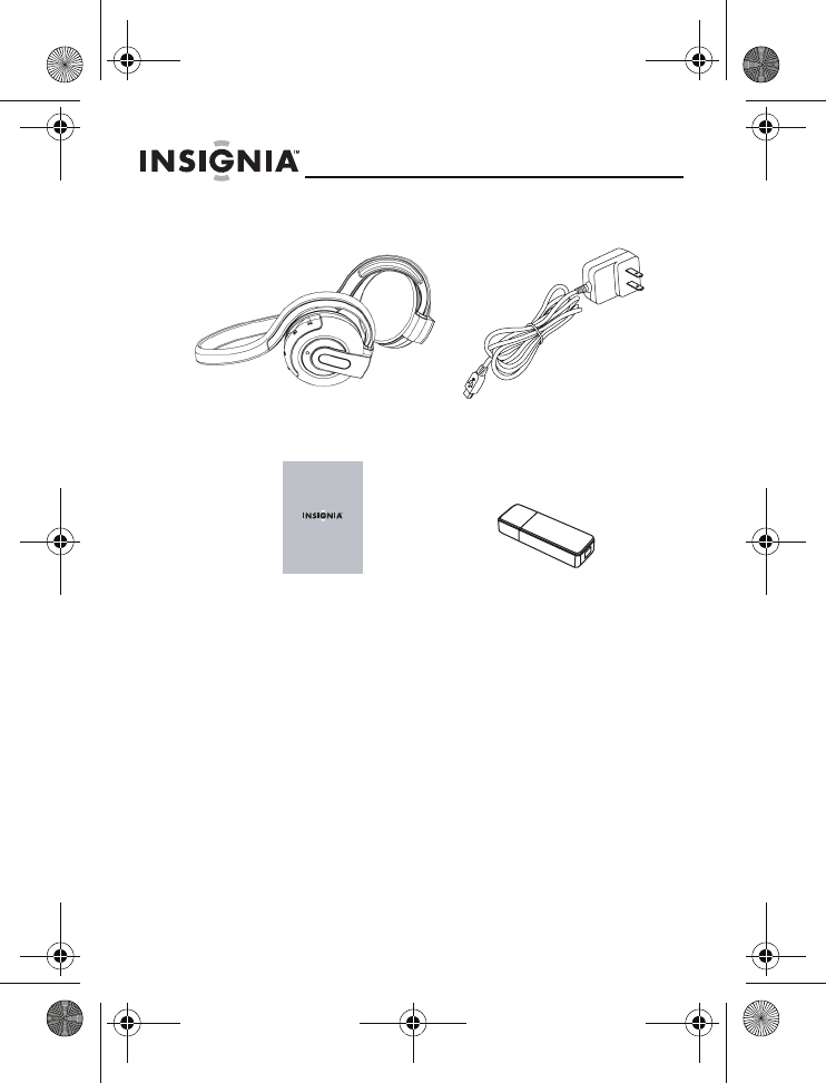 Page 4 of Insignia Headphones NS-BTHDST User Guide