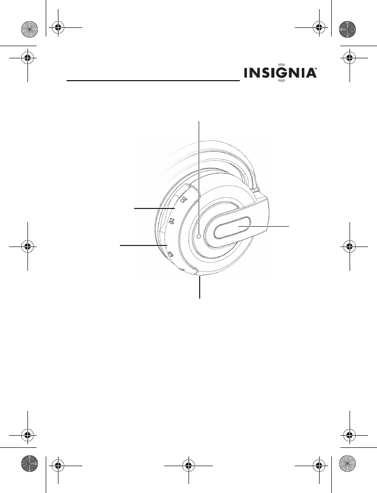 Page 5 of Insignia Headphones NS-BTHDST User Guide