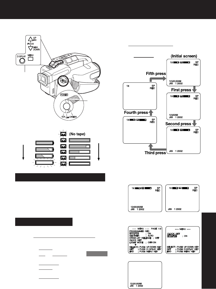 Page 29 of Quasar Camcorder VM-L152 User Guide