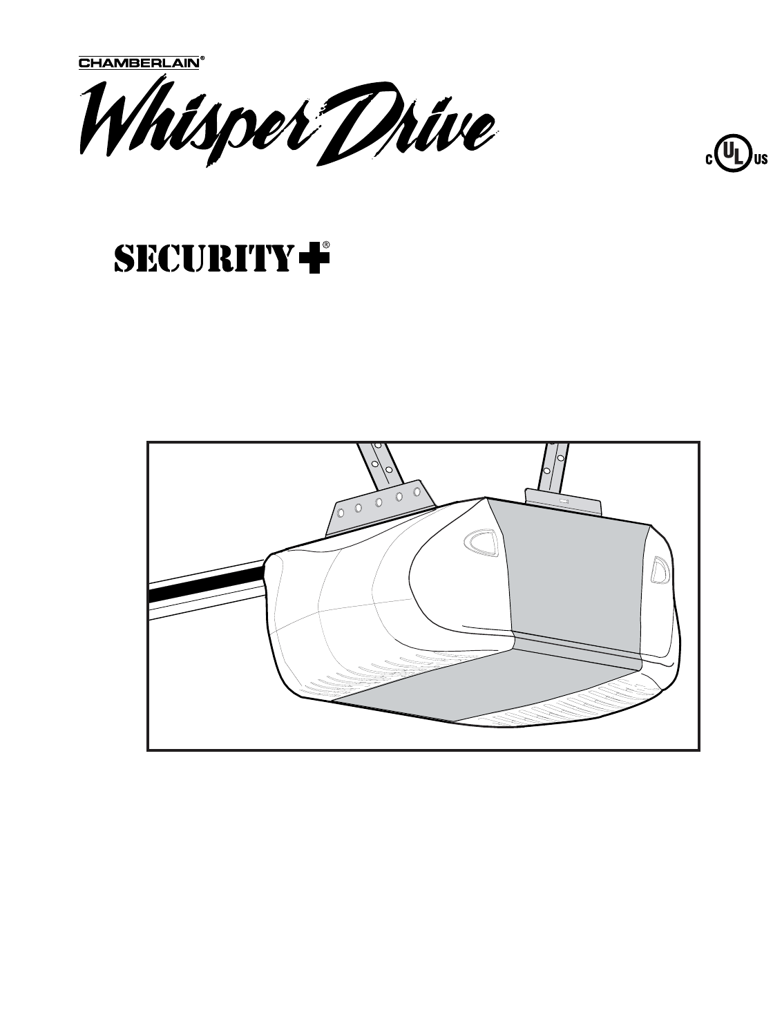 Chamberlain Garage Door Opener WD822KS 1/2 HP User Guide