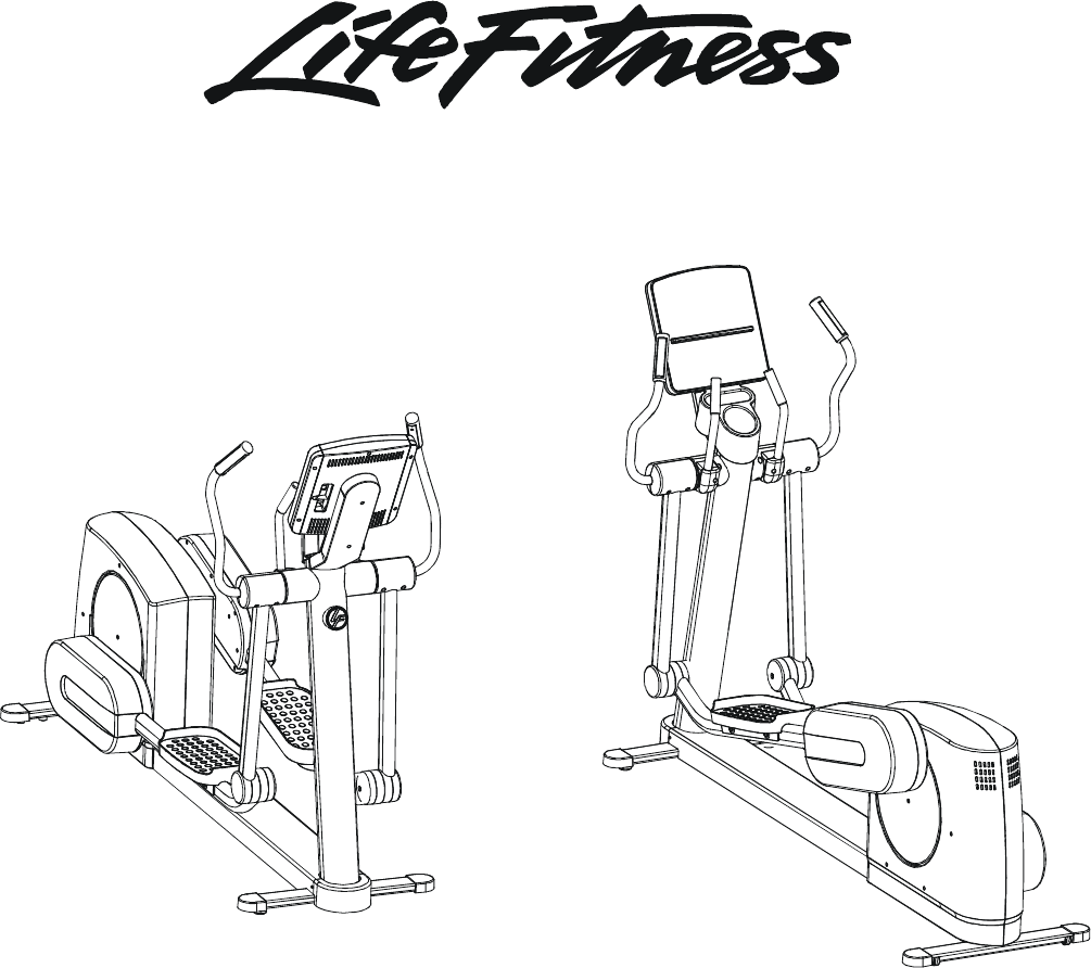 Life Fitness Elliptical Trainer 90X-0XXX-01 User Guide