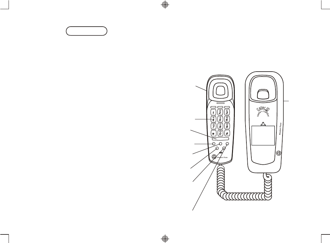 Page 3 of Southwestern Bell Telephone FM2552/FM2000 User
