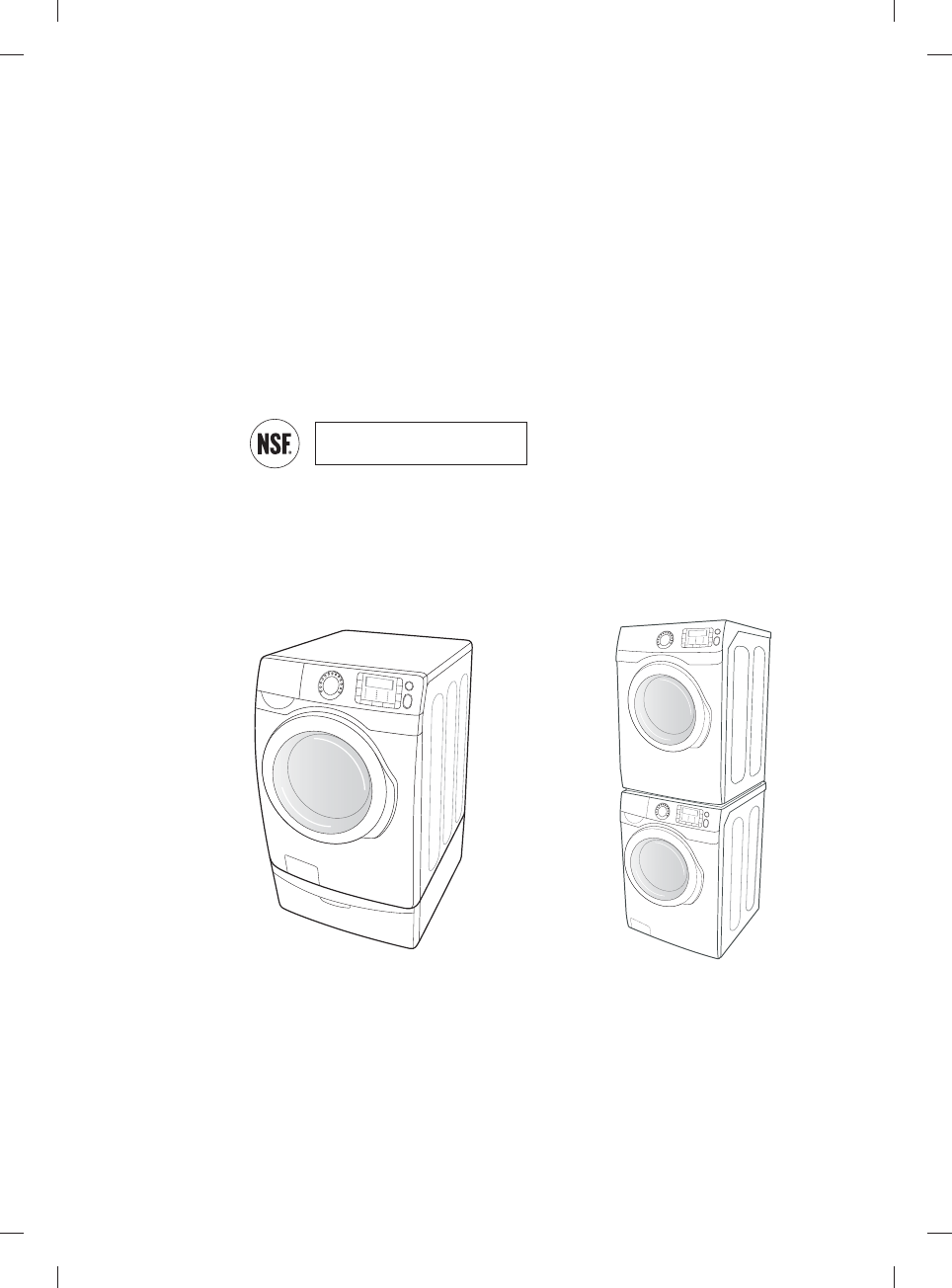 Page 3 of Samsung Washer WF455ARGSWR User Guide