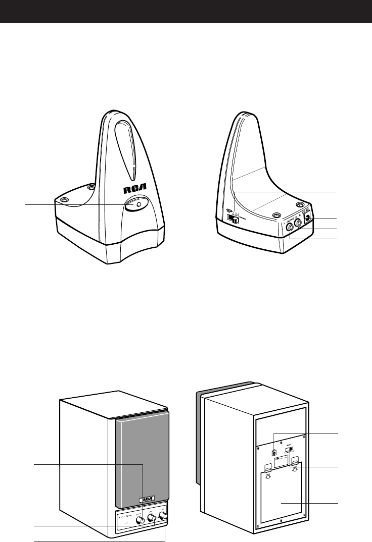 Page 3 of Samsung Speaker System WSP200 User Guide