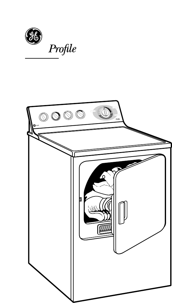 Page 3 of GE Clothes Dryer DPSR483EAWW User Guide