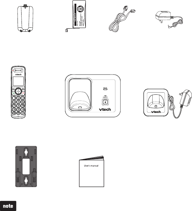 Page 5 of VTech Telephone CS6419 User Guide