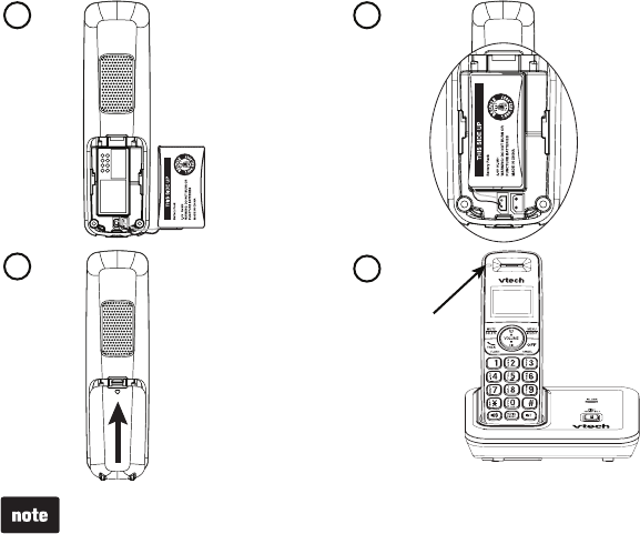 Page 7 of VTech Telephone CS6419 User Guide