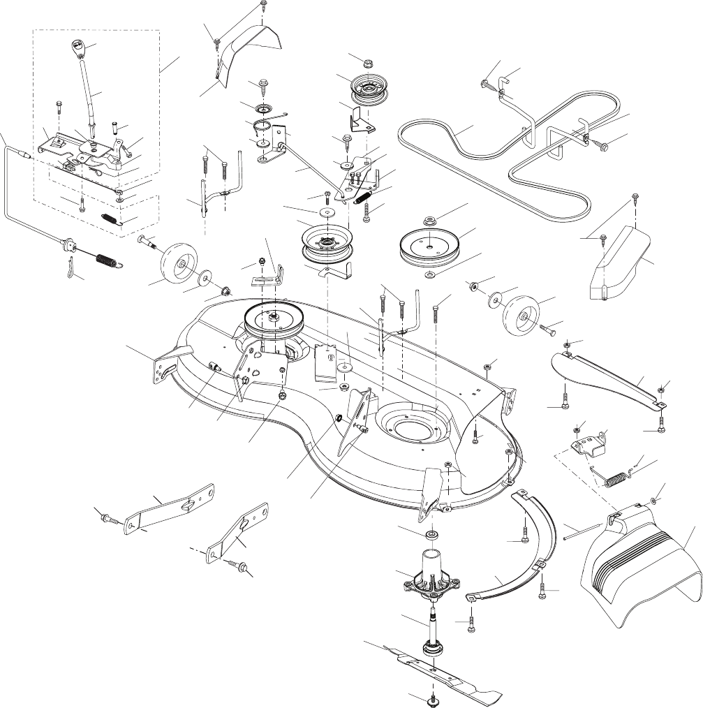 Page 38 of Husqvarna Lawn Mower YTH2246 User Guide