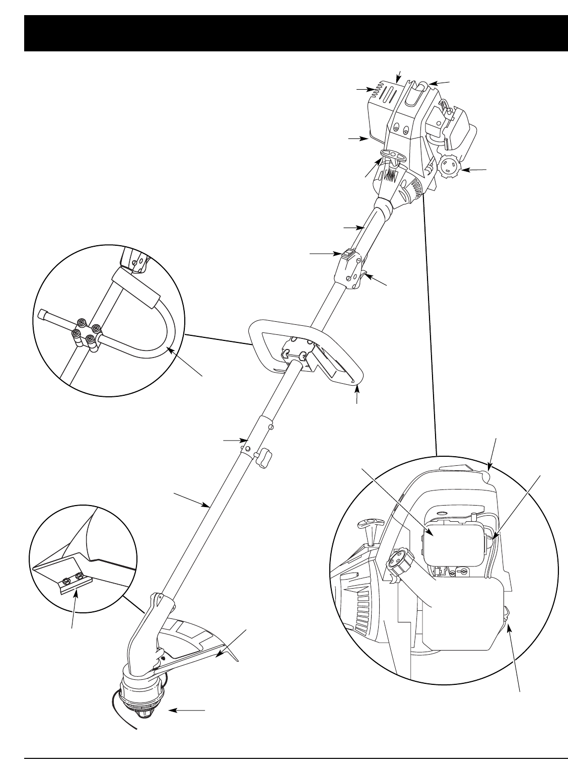 Page 6 of Troy-Bilt Trimmer TB425CS, TB475SS User Guide