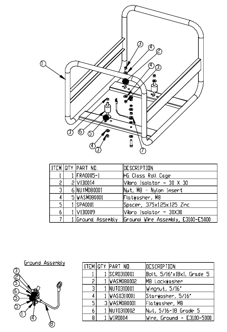 Page 8 of Chicago Electric Portable Generator 38862 User