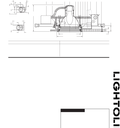lightolier c7e17fl pl work light user manual [ 1160 x 1513 Pixel ]