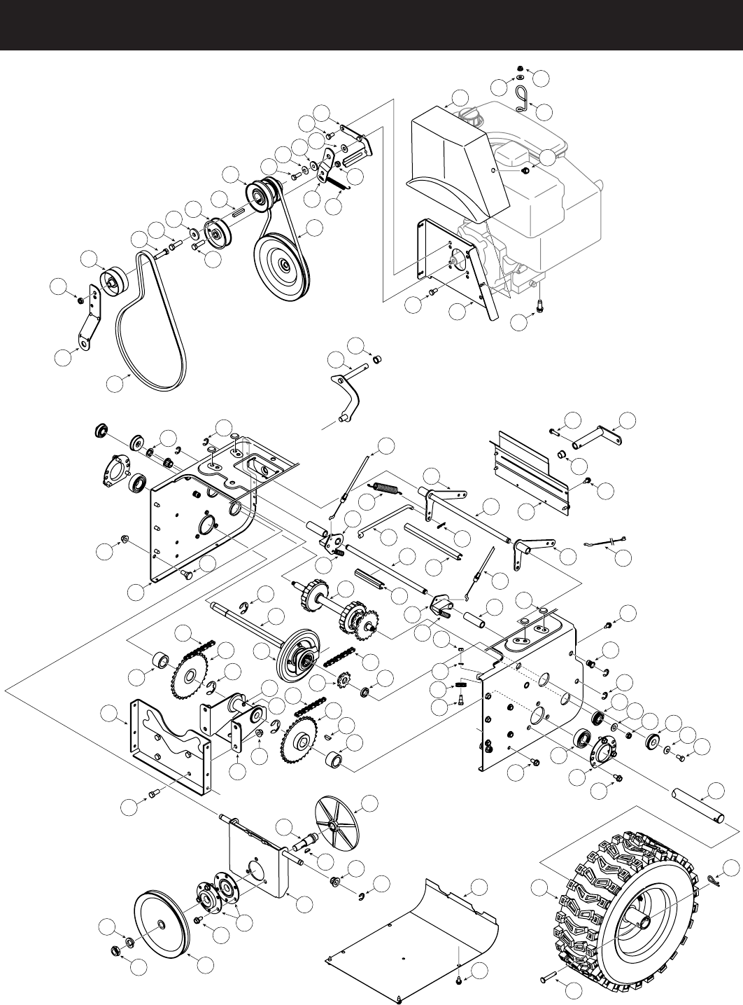 Page 28 of Craftsman Snow Blower 247.88045 User Guide
