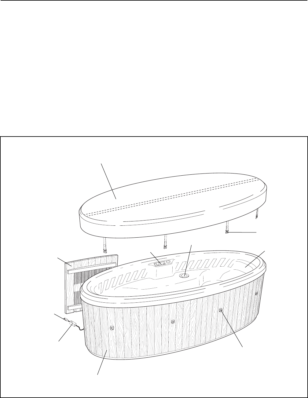 Page 6 of ProForm Hot Tub 831.21002 User Guide