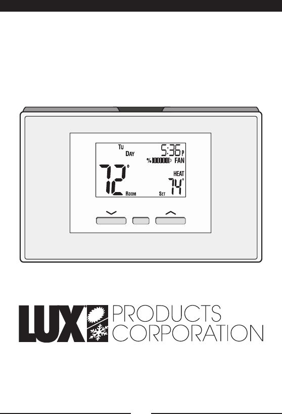 Page 32 of Lux Products Thermostat P521Uc User Guide