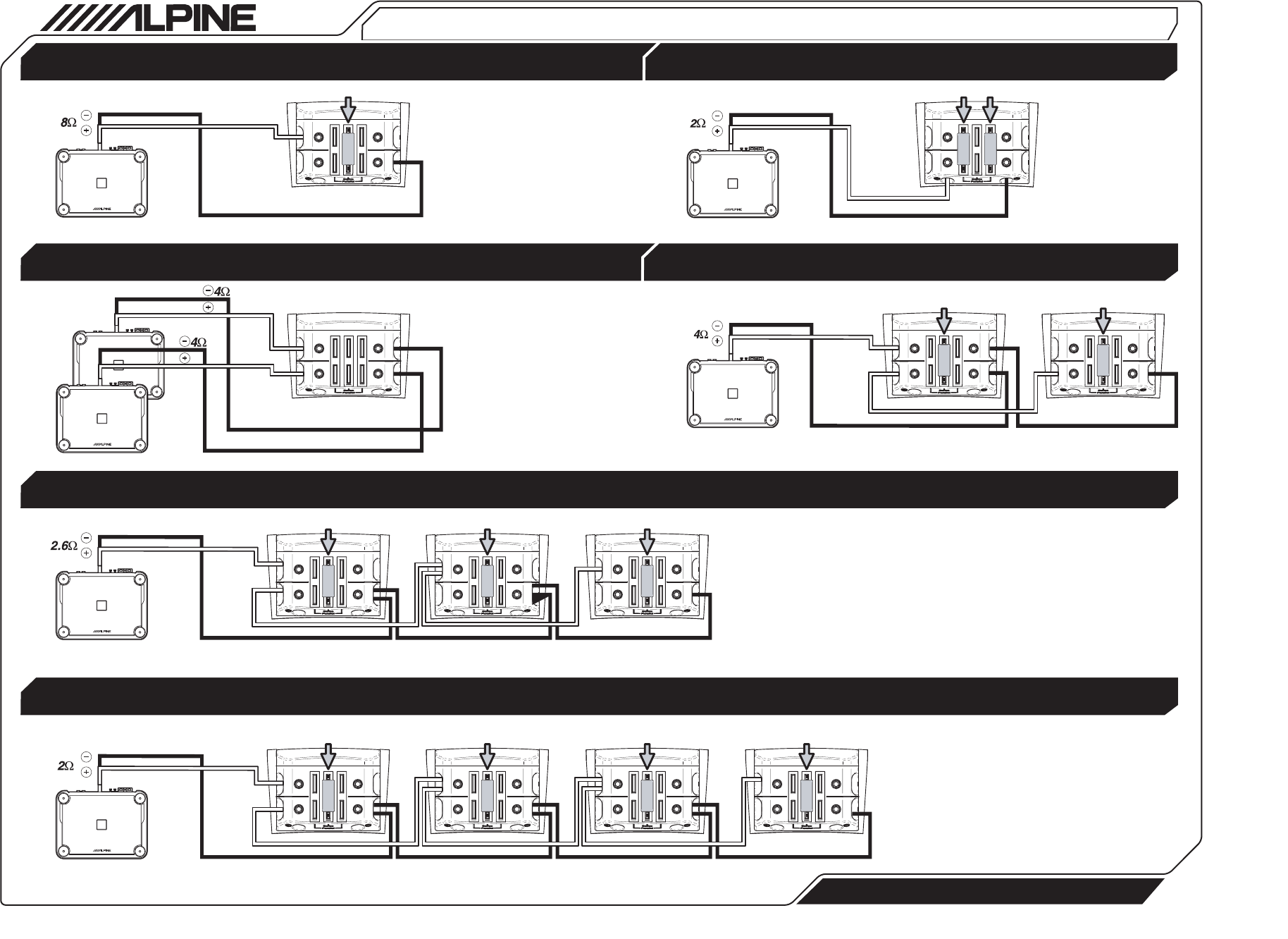 alpine type x 12 wiring diagram meyer snow plow e47 page 4 of car speaker swx 1243d user guide