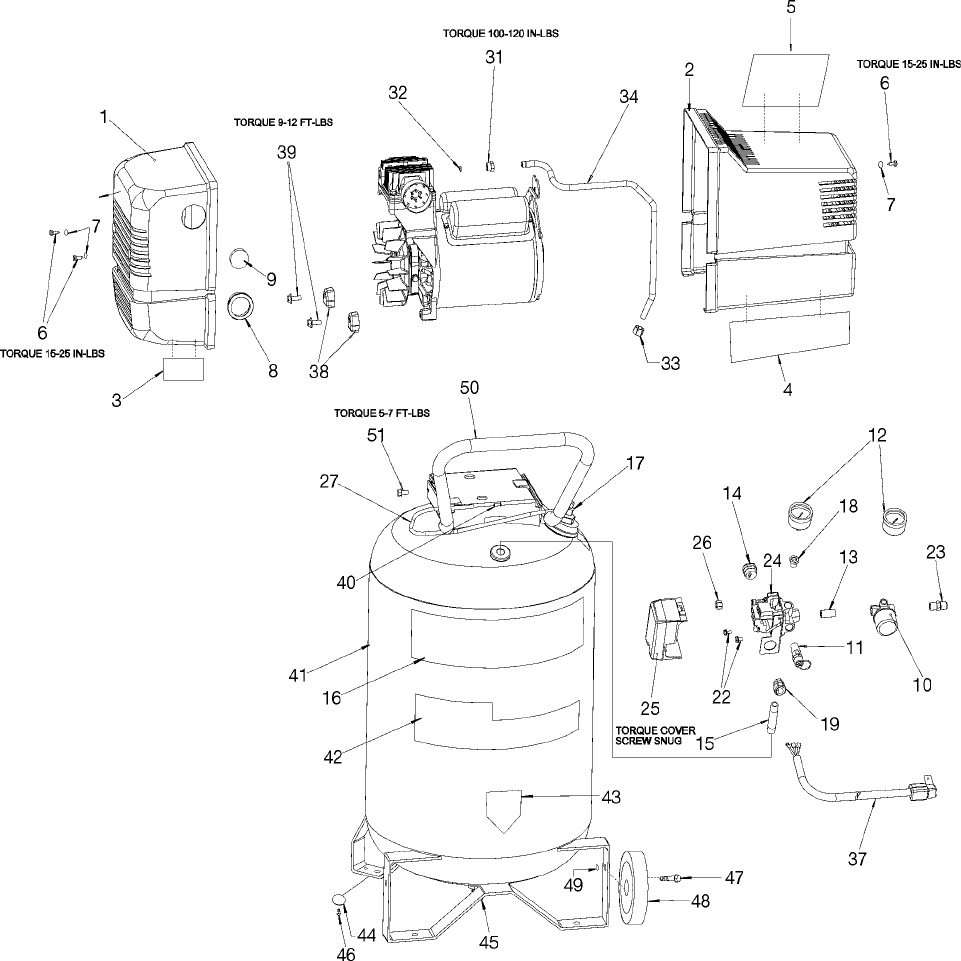 Page 2 of Sears Air Compressor 919.1652 User Guide