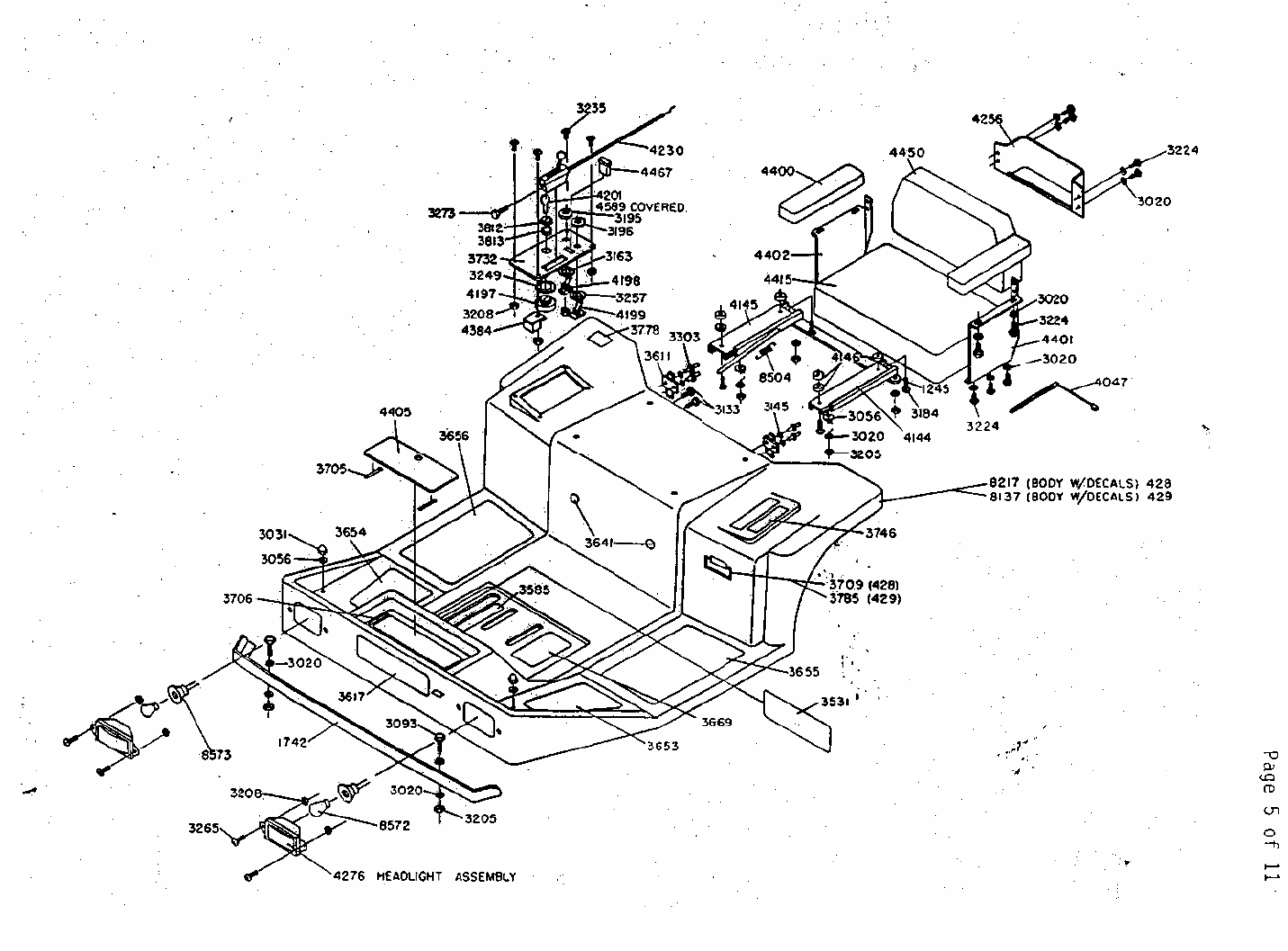 Page 3 of Dixon Lawn Mower ZTR 428 User Guide