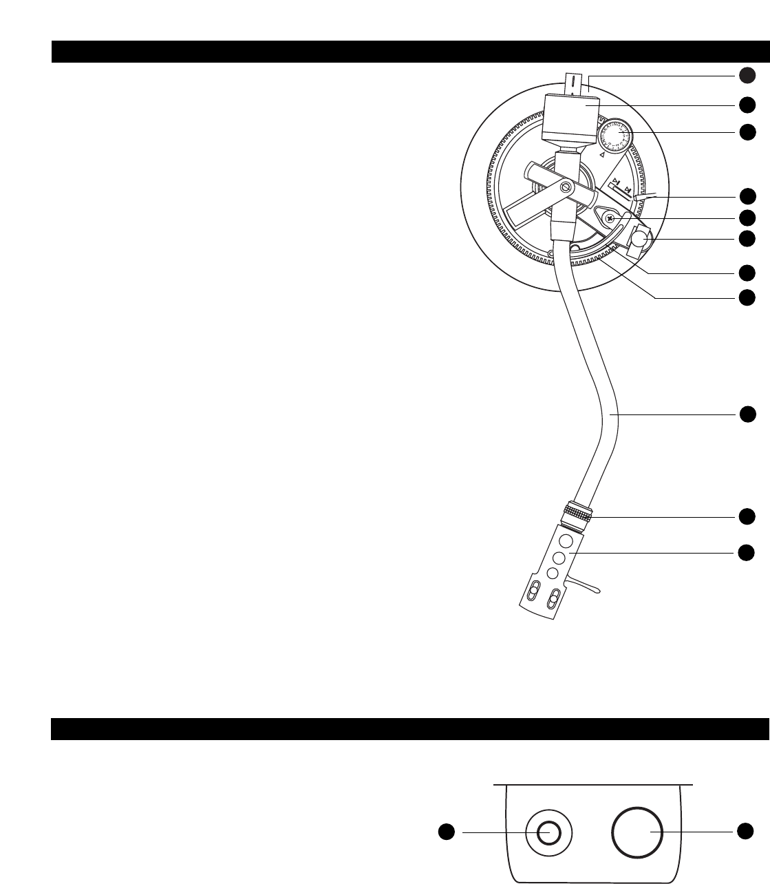 Page 4 of Audio-Technica Turntable AT-PL120 User Guide