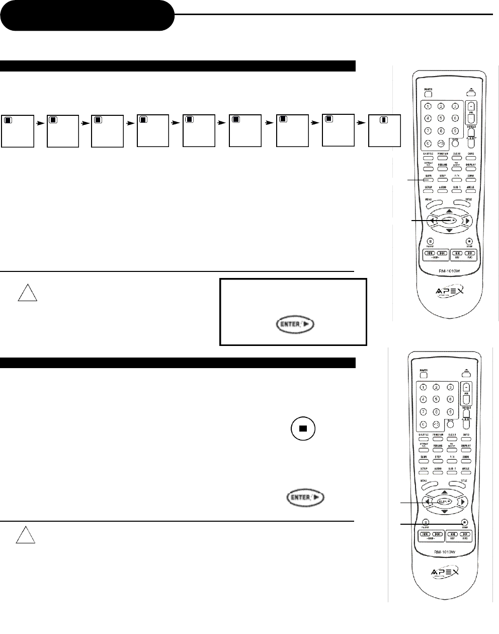 Page 18 of Apex Digital DVD Player AD-1110W User Guide