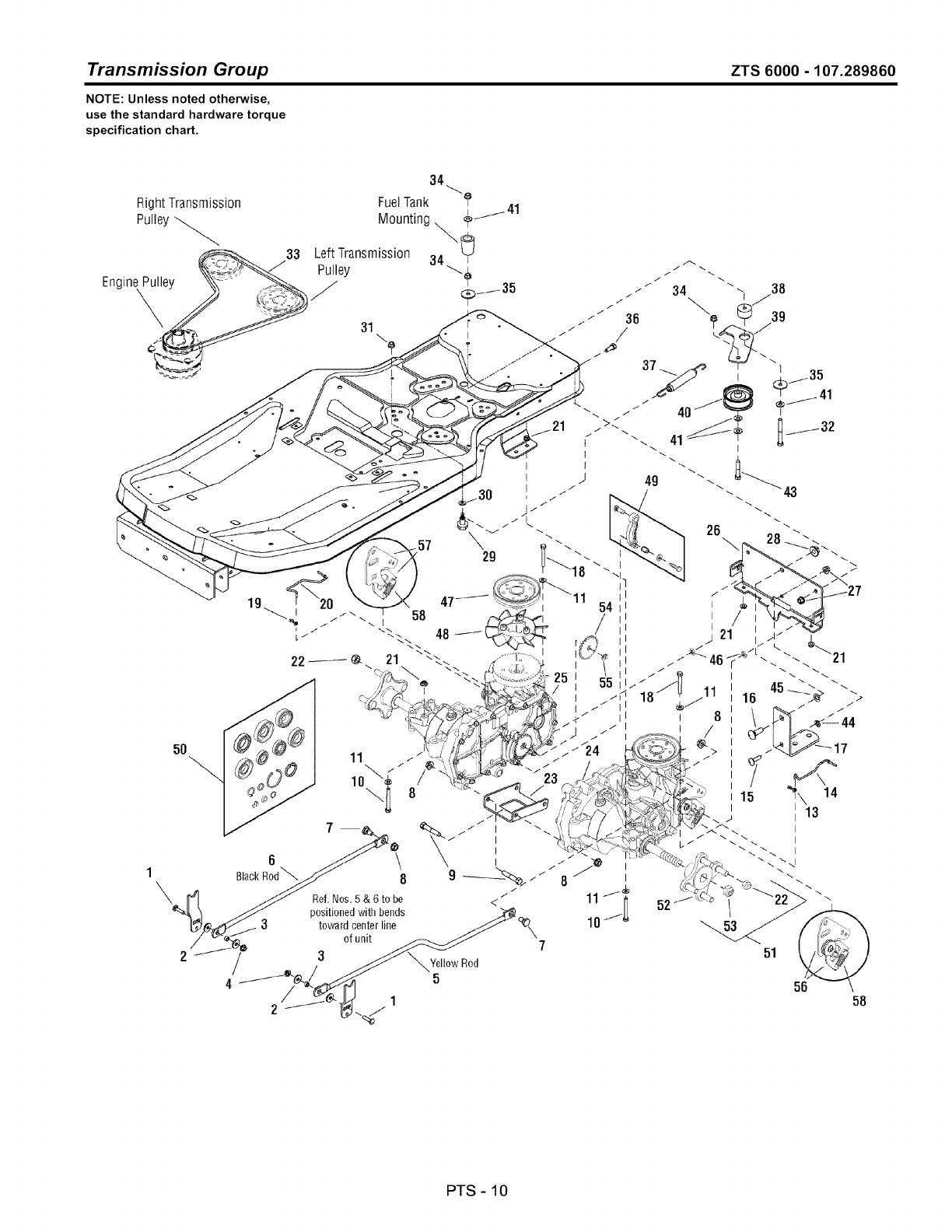 Page 82 of Craftsman Lawn Mower ZTS 6000 User Guide