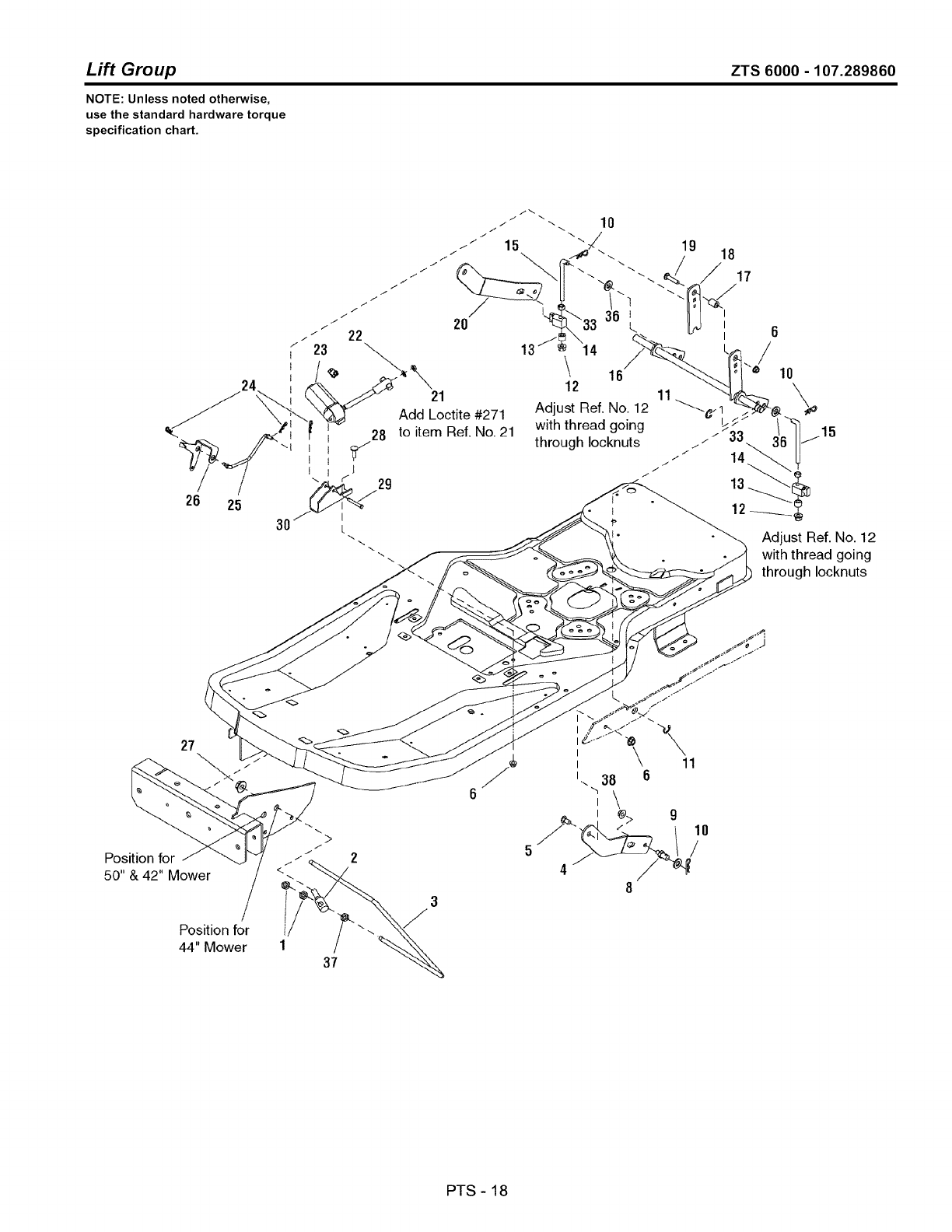 Page 90 of Craftsman Lawn Mower ZTS 6000 User Guide