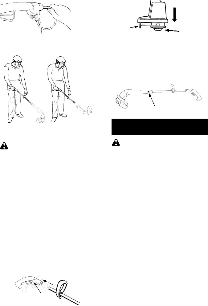 Page 5 of Weed Eater Trimmer SG10 User Guide
