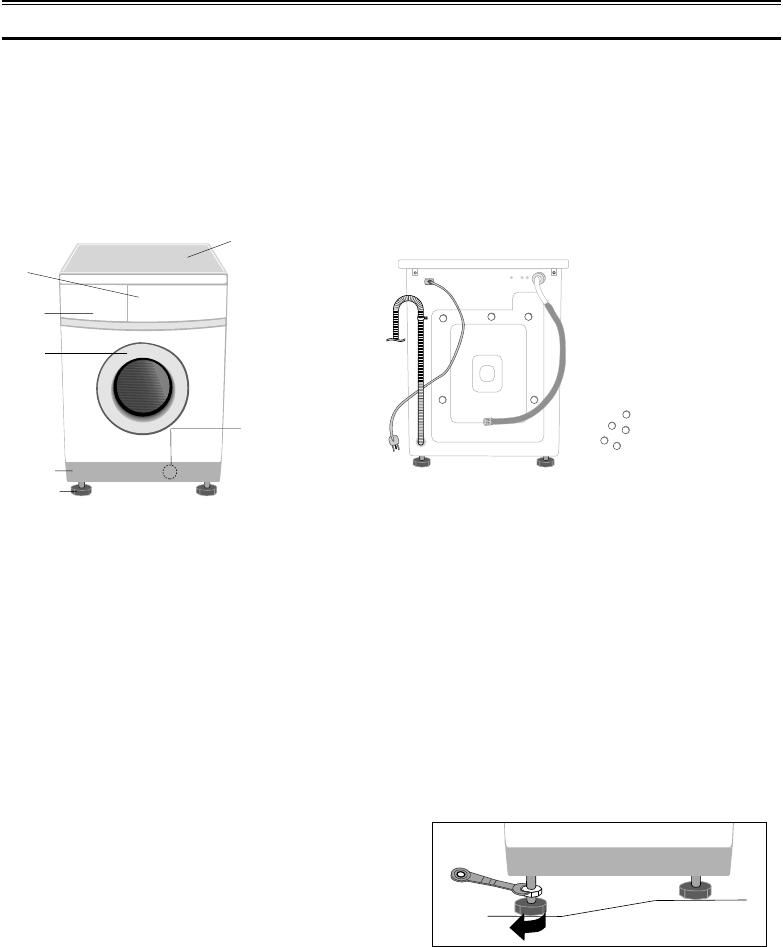 Page 3 of Samsung Washer J1043/J843 User Guide