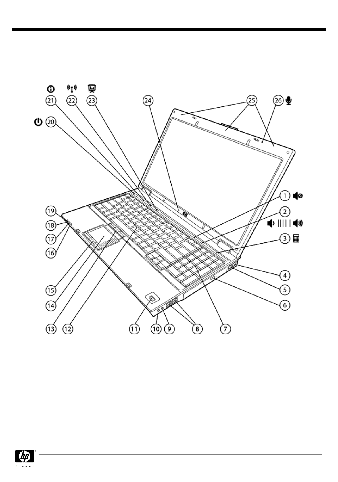HP (Hewlett-Packard) Laptop 8710p User Guide