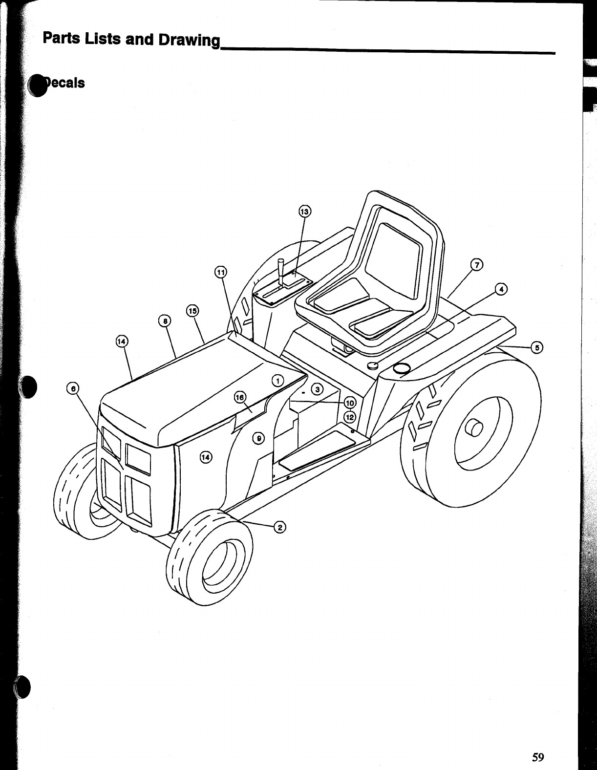 Page 61 of Snapper Lawn Mower MGT2000H User Guide