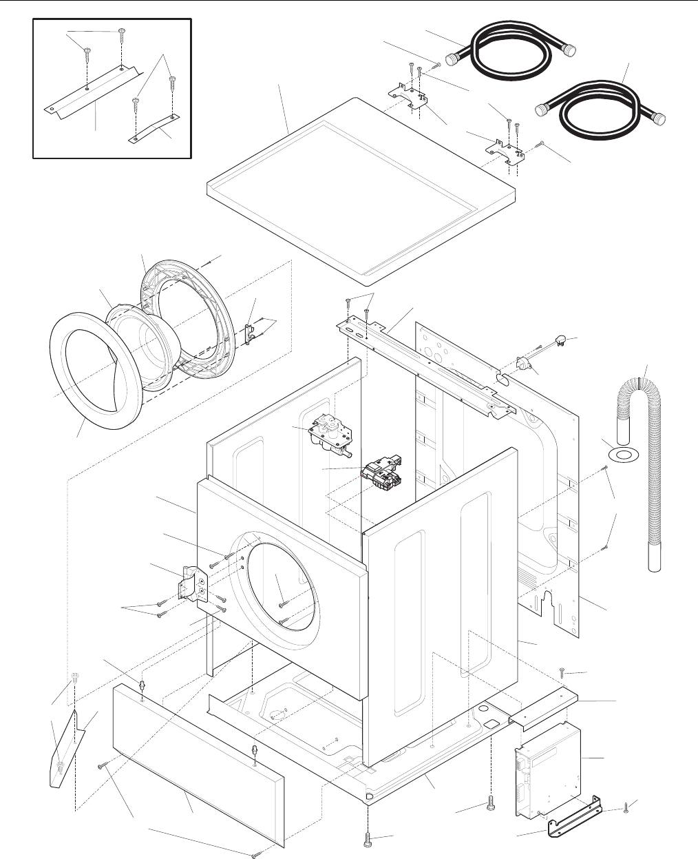 Page 4 of Electrolux Washer WTF330HS0 User Guide