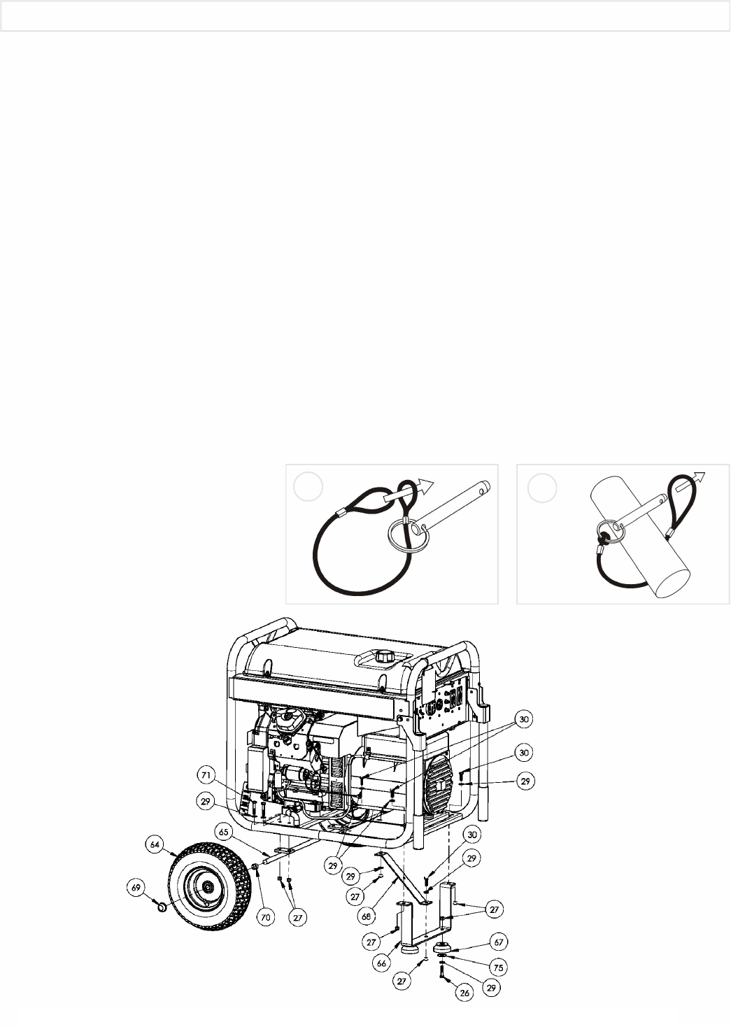 Page 4 of Coleman Portable Generator PM0601100 User Guide