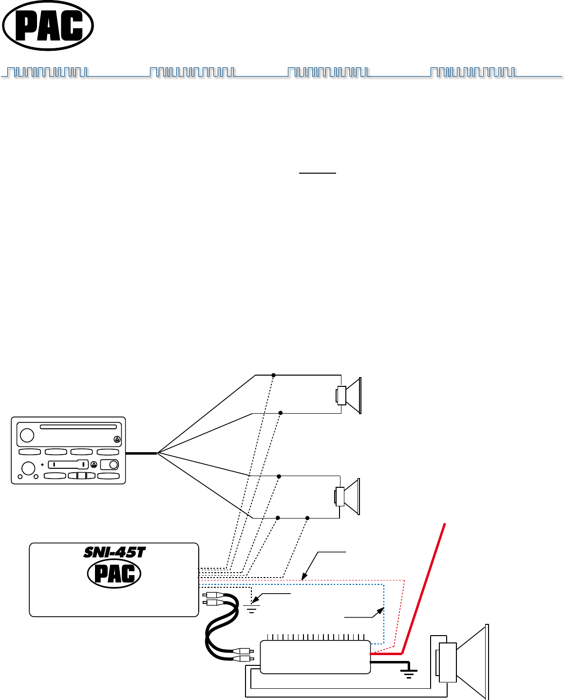 Pac Line Out Converter Wiring Diagram : 37 Wiring Diagram