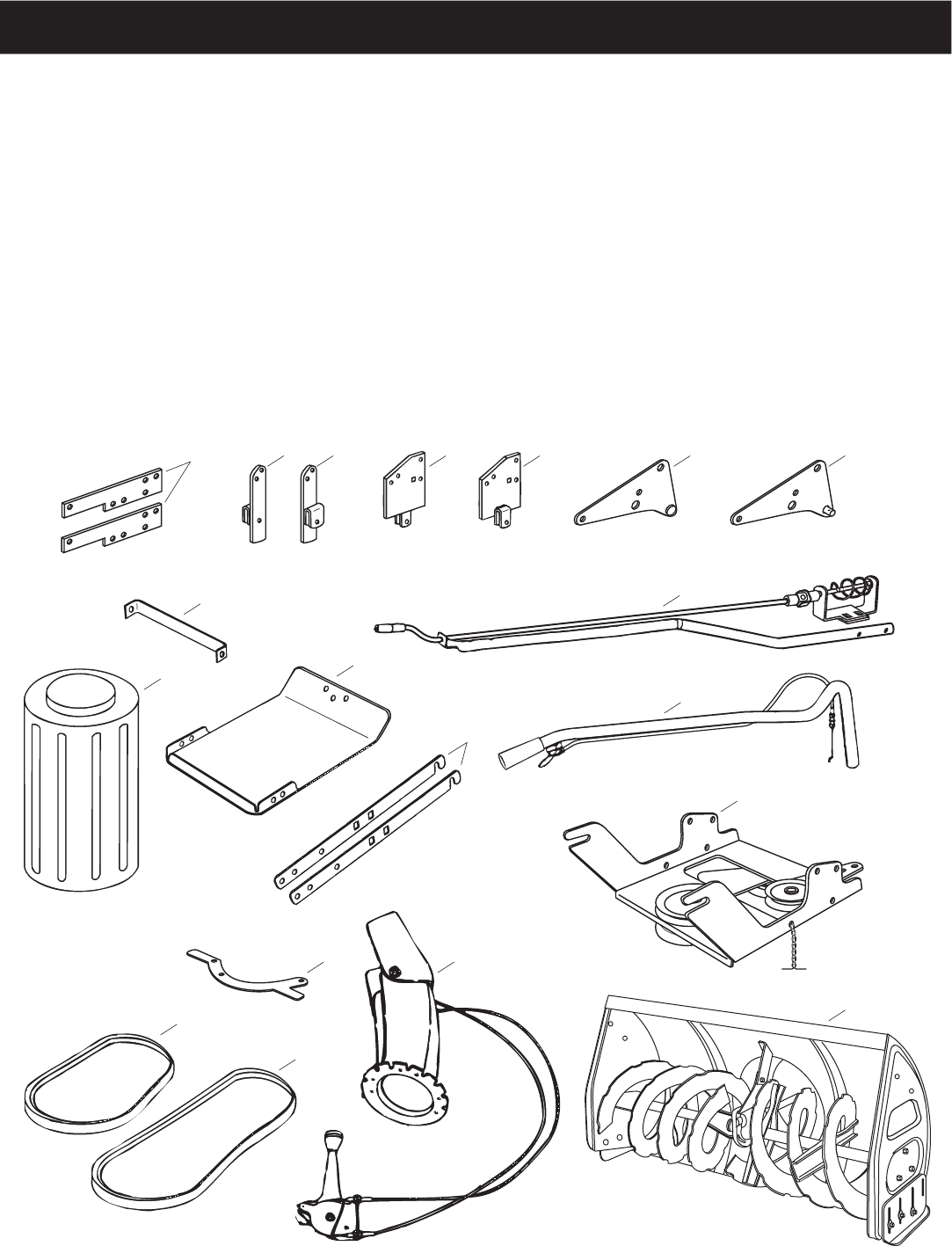 Page 5 of Sears Snow Blower 486.248463 User Guide