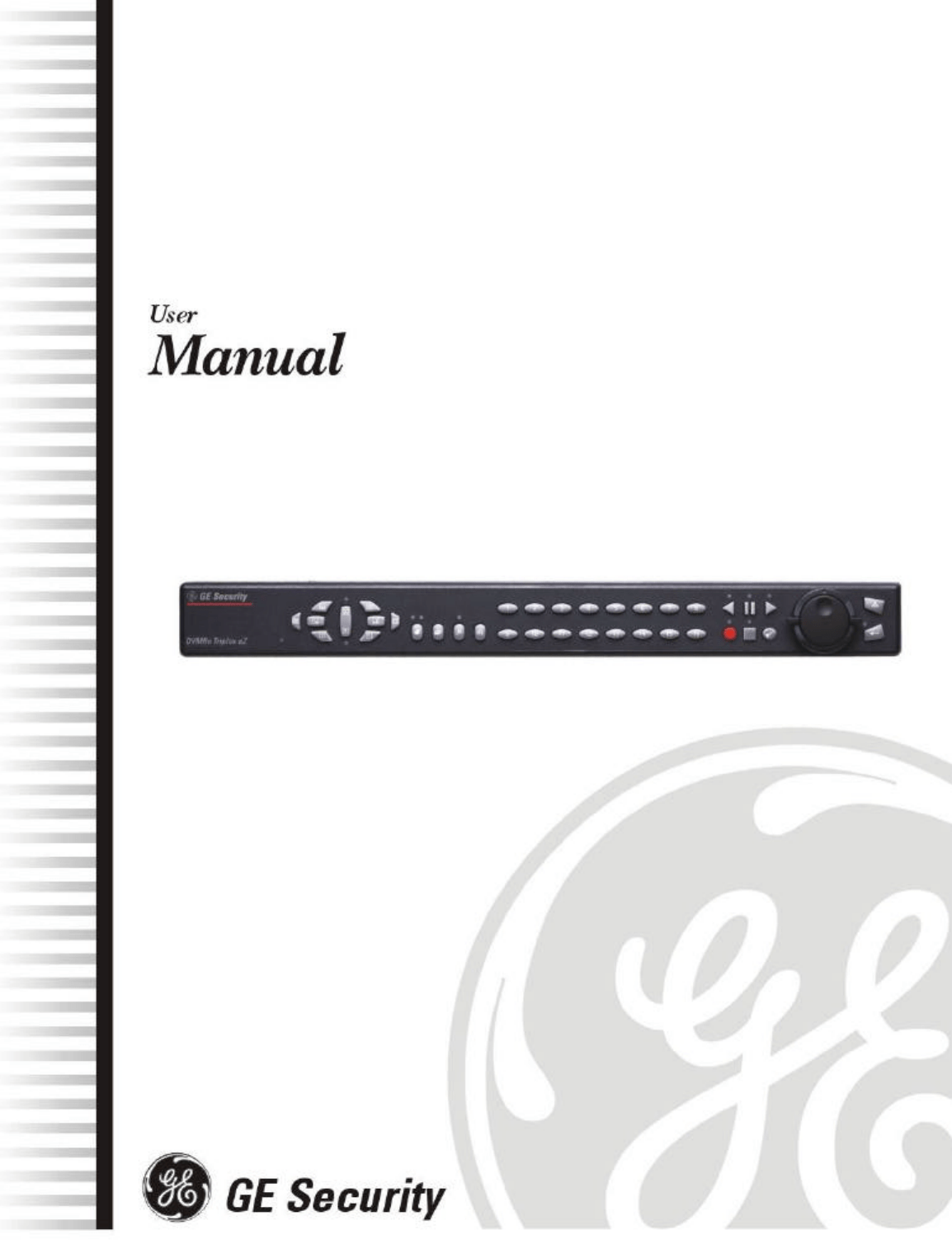 GE Recording Equipment DVMRe 4eZT User Guide