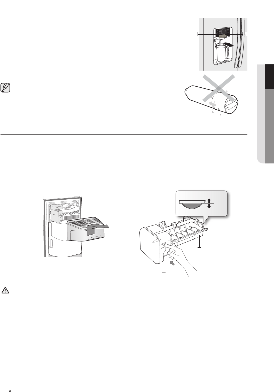 Page 21 of Samsung Refrigerator RS265TDWP User Guide