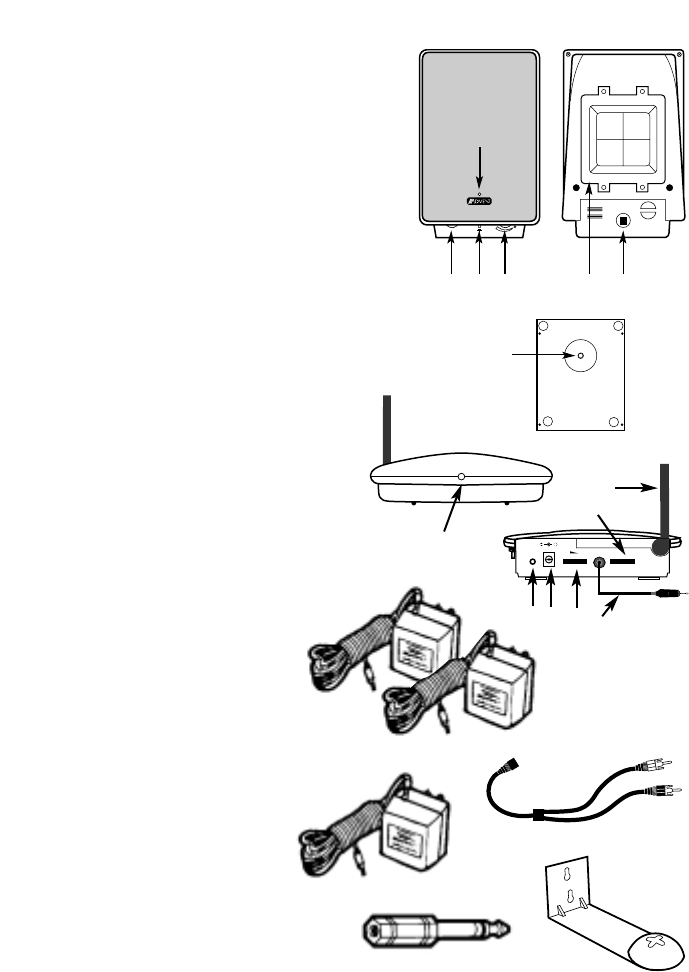 Page 3 of Recoton/Advent Speaker System AW820 User Guide