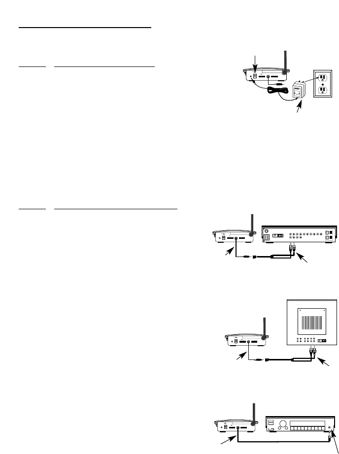 Page 4 of Recoton/Advent Speaker System AW820 User Guide