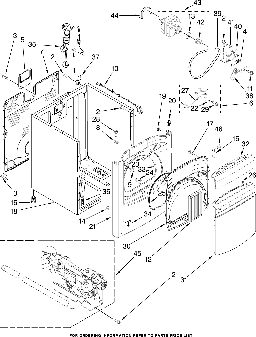 Page 3 of Whirlpool Clothes Dryer WGD6200SW1 User Guide