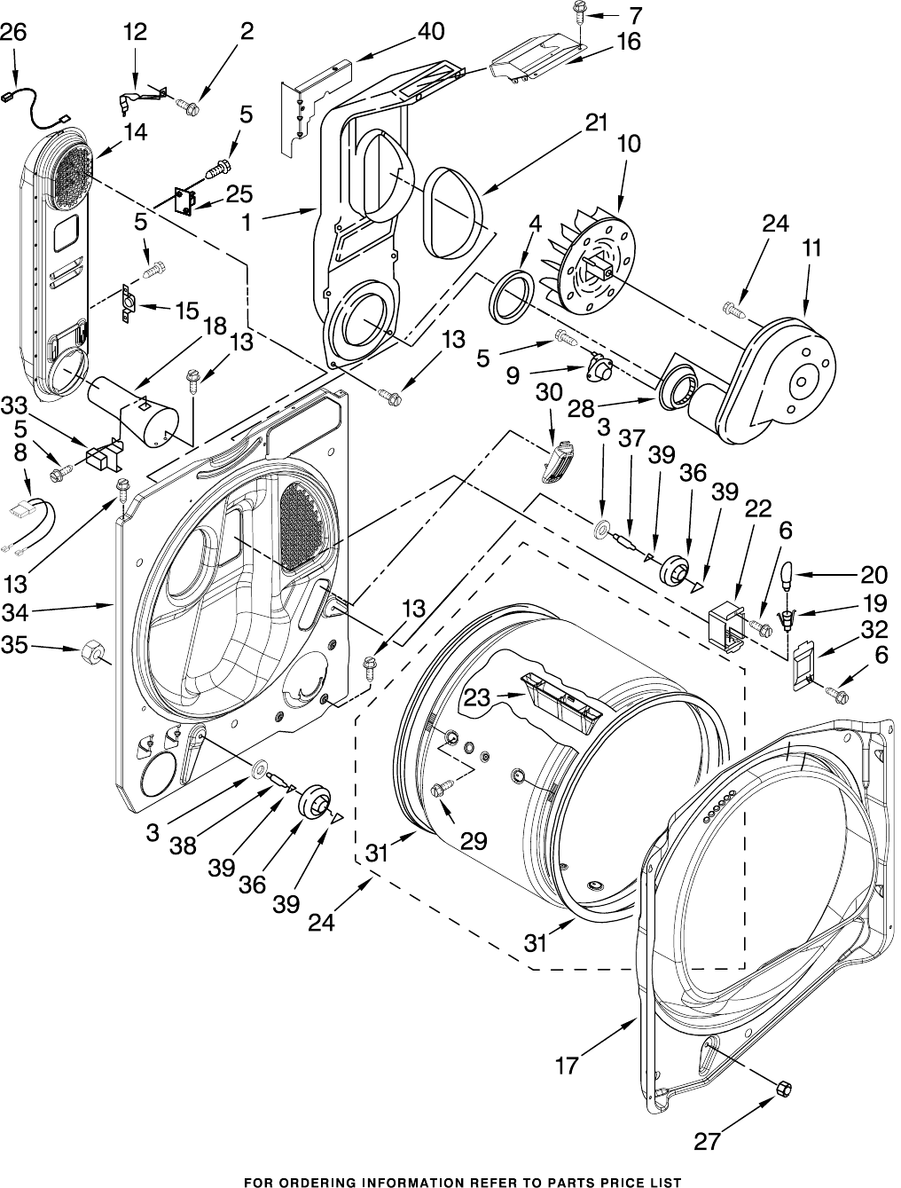 Page 5 of Whirlpool Clothes Dryer WGD6200SW1 User Guide