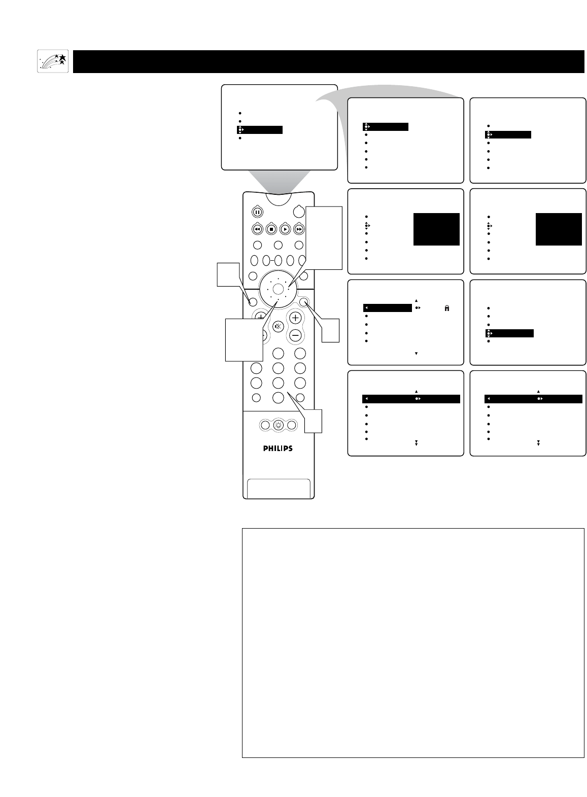 Page 48 of Philips Projection Television 55PW9363 User
