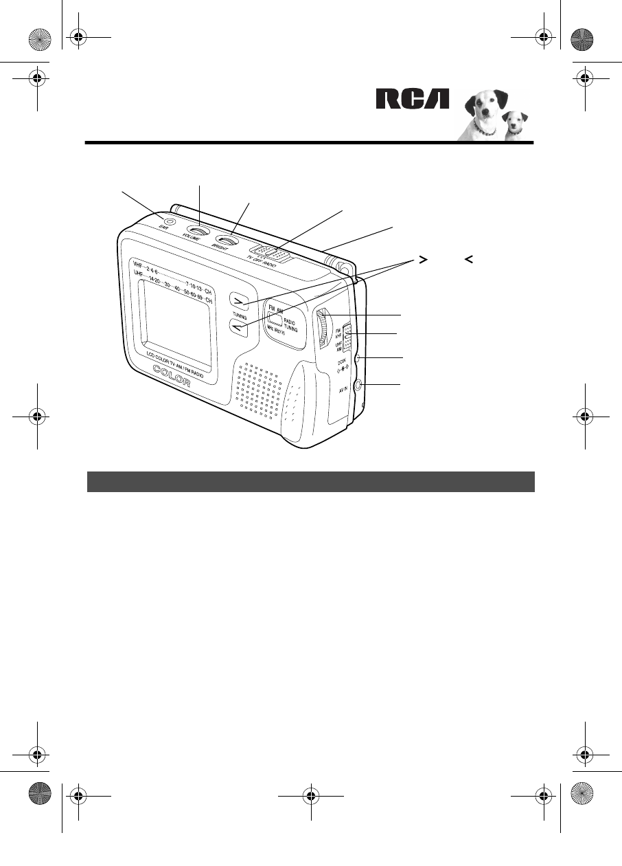 RCA Flat Panel Television 16-3054 User Guide