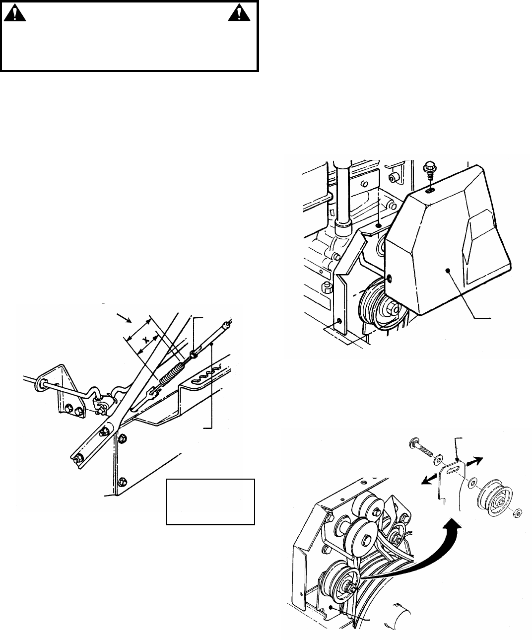Page 12 of Snapper Snow Blower I55223, I7243 User Guide